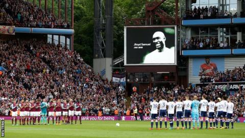 Jlloyd Samuel: Tributes paid after former Aston Villa and Bolton defender dies in crash