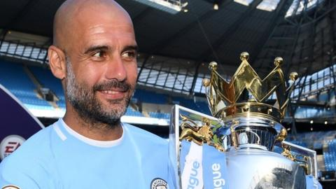 Pep Guardiola: Manchester City manager signs new deal to 2021