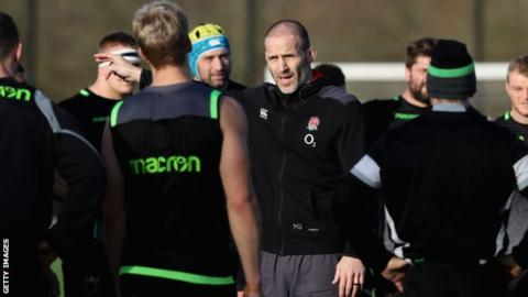 Paul Gustard: Harlequins set to name England defence coach as new boss