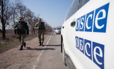 OSCE SMM reports blast in Zolote, Luhansk region