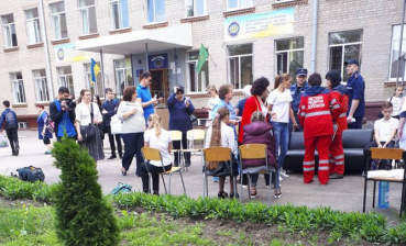 15 Kharkiv pupils were hospitalized over poisoning by unknown gas