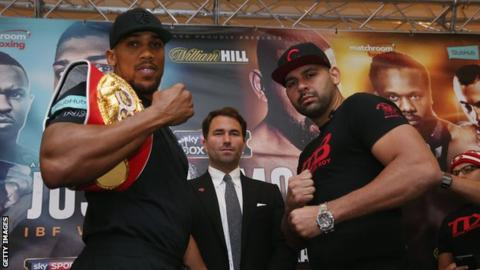 Eric Molina: Anthony Joshua opponent banned after failing doping test