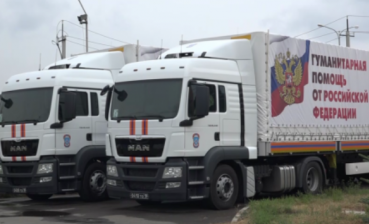 Russia sent its 77th 'humanitarian convoy' to occupied Donbas