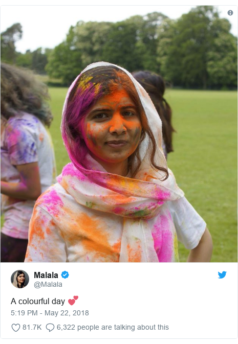 Malala elected social secretary at Oxford