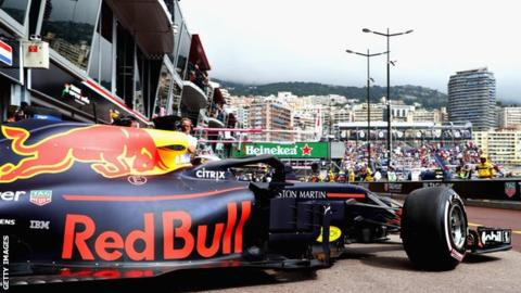 Monaco Grand Prix: Daniel Ricciardo leads Red Bull one-two in Monte Carlo