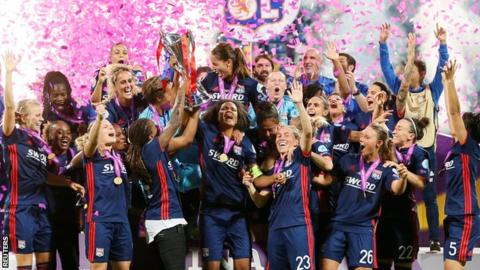 Women's Champions League final: Wolfsburg Ladies 1-4 Lyon Feminines(AET)