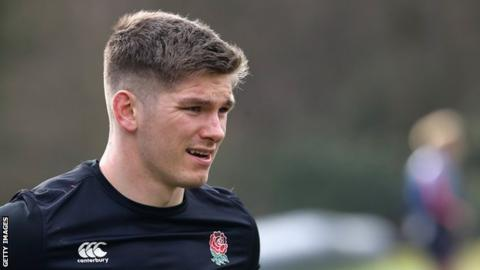 Owen Farrell on England captaincy, pressure and his famous stare