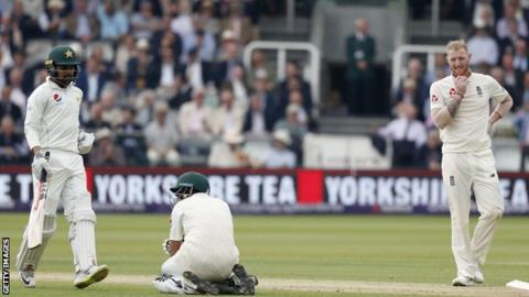England v Pakistan: Babar Azam to miss rest of series with broken wrist