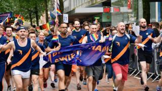 Birmingham Pride: Tens of thousands march in street celebration