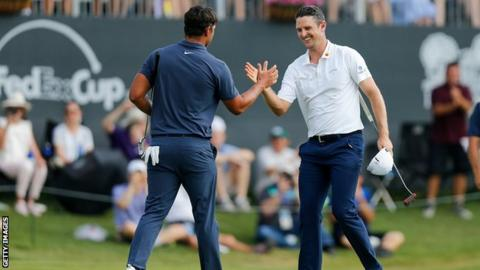 Fort Worth Invitational: Justin Rose wins at Colonial to take ninth PGA title