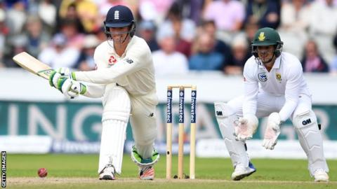 England v Pakistan: Keaton Jennings replaces Mark Stoneman for second Test