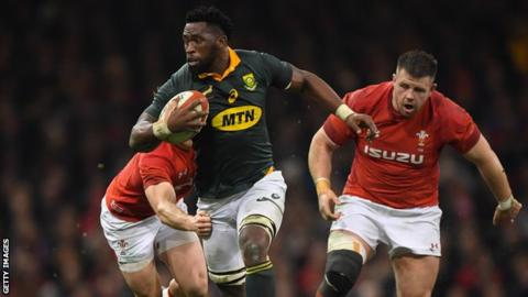 Siya Kolisi: South Africa name first black Test captain for England series
