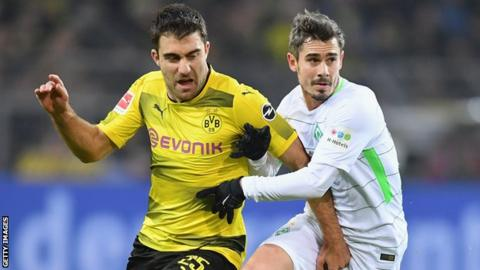 Arsenal: Sokratis Papastathopoulos set to join from Borussia Dortmund for reported?16m