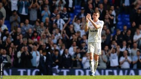 Gareth Bale: Real Madrid forward will not join former club Tottenham