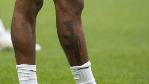 Raheem Sterling: FA shows support after gun tattoo row