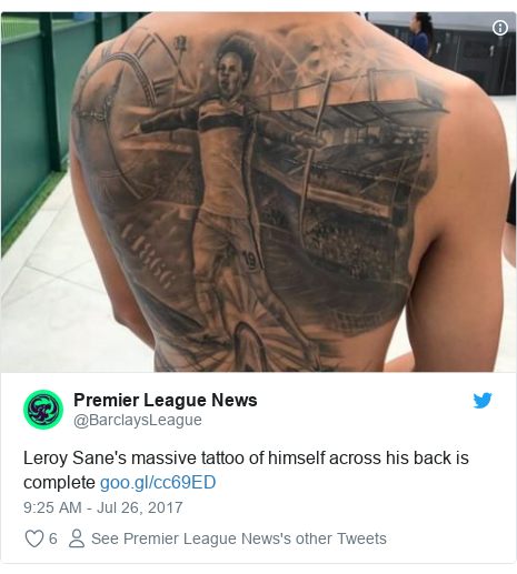 Footballers And The Meaning Behind Their Tattoos News