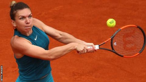 French Open 2018: Simona Halep beats Alison Riske to reach second round