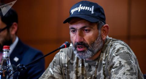 Armenian parliament didn't support Pashinyan's candidacy for prime minister