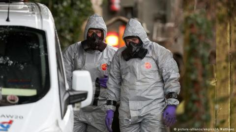 OPCW Head: 50-100 grams of Novichok were used to poison Skripals