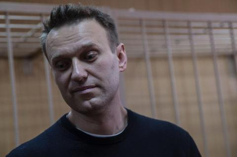 Navalny detained at protest action in Moscow