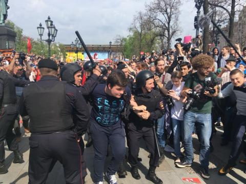 Number of detainees at protest rallies in Russia increases to 1230 people