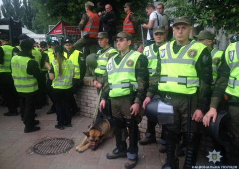 Victory Day: seven people detained in Ukraine for banned symbols