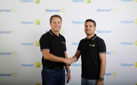 Walmart takes control of Indian online retailer Flipkart for ?12bn
