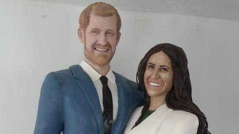 Royal wedding couple: You may now eat the bride