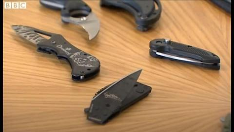 South Wales police Taser rethink as gang knife threat grows