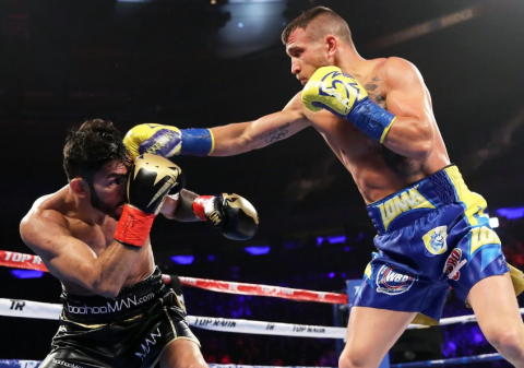 Box: Lomachenko wins fight with Jorge Linares