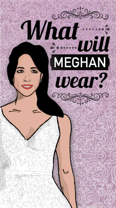 What kind of wedding dress will Meghan Markle wear?