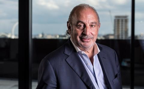 Sir Philip Green's retail empire suffers 42pc profits slump and closes stores