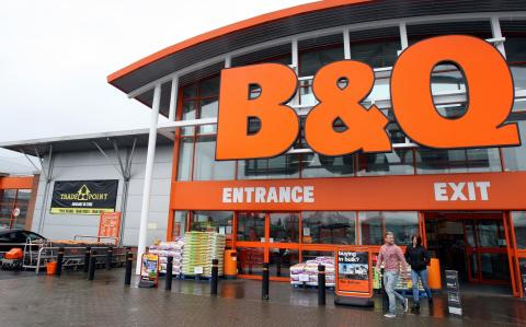Beast from the East blows B&Q sales off course
