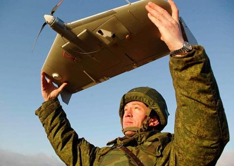 Pro-Russian militants' drone shot down in Donbas