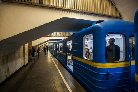 Five subway stations in Kyiv mined