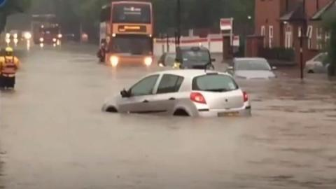 Clean-up begins in Birmingham after flash flooding