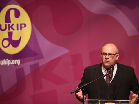 UKIP MEP quits over leader's support for Robinson