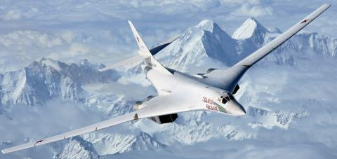 Russia's Supersonic Tu-160 Bomber Is Headed to the Arctic