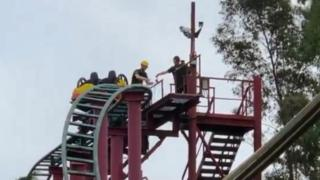 Chessington theme park riders stranded after power cut