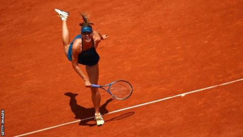 French Open 2018: Maria Sharapova wins to set up potential Serena Williams match