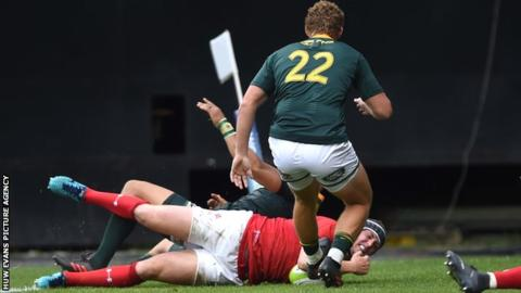 Wales beat South Africa 22-20 in Washington DC