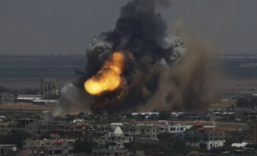 Israel performs counterattack at Hamas in Gaza