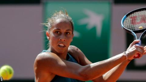 French Open 2018: Madison Keys reaches quarter-finals at Roland Garros