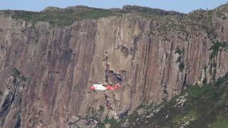 Two climbers injured after Fair Head fall