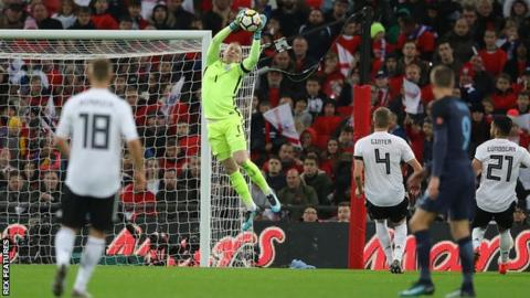 World Cup 2018: England's Jordan Pickford to wear number one shirt