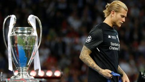Loris Karius: Liverpool keeper concussed during Champions League final - doctors
