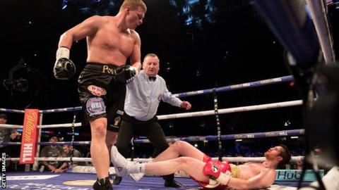Anthony Joshua: Alexander Povetkin deal close despite Deontay Wilder talks