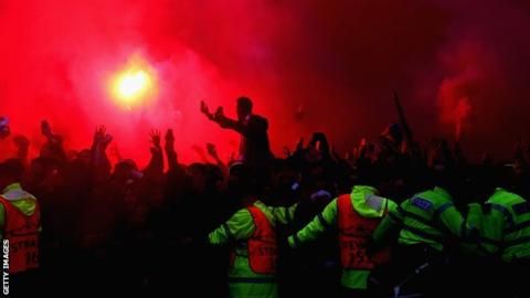 Roma fined following crowd disturbances at Liverpool Champions League tie