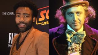 Donald Glover as Willy Wonka?Fictional characters' changing races