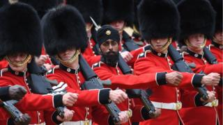 Trooping the Colour: Guardsman first to wear turban